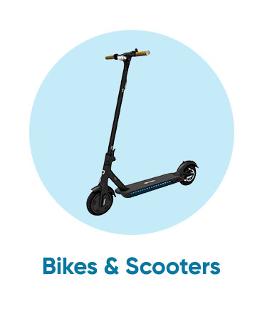 bikes and scooters