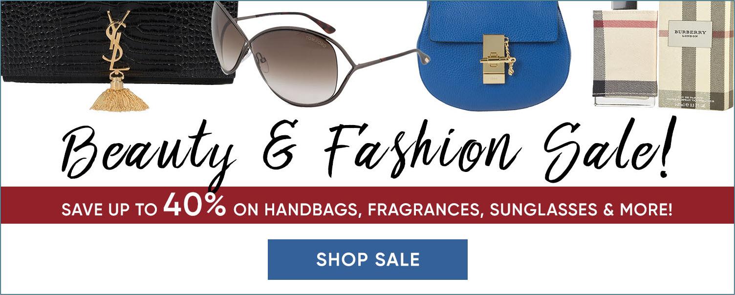 Beauty and Fashion Sale